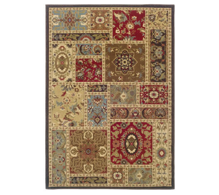 "Oriental Weavers Anne 5' x 7'6"" Traditional  Rug"