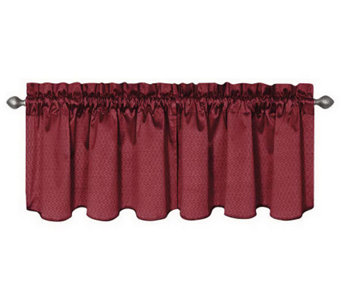 "Eclipse 42"" x 21"" Canova Blackout Window Valance - H367514"