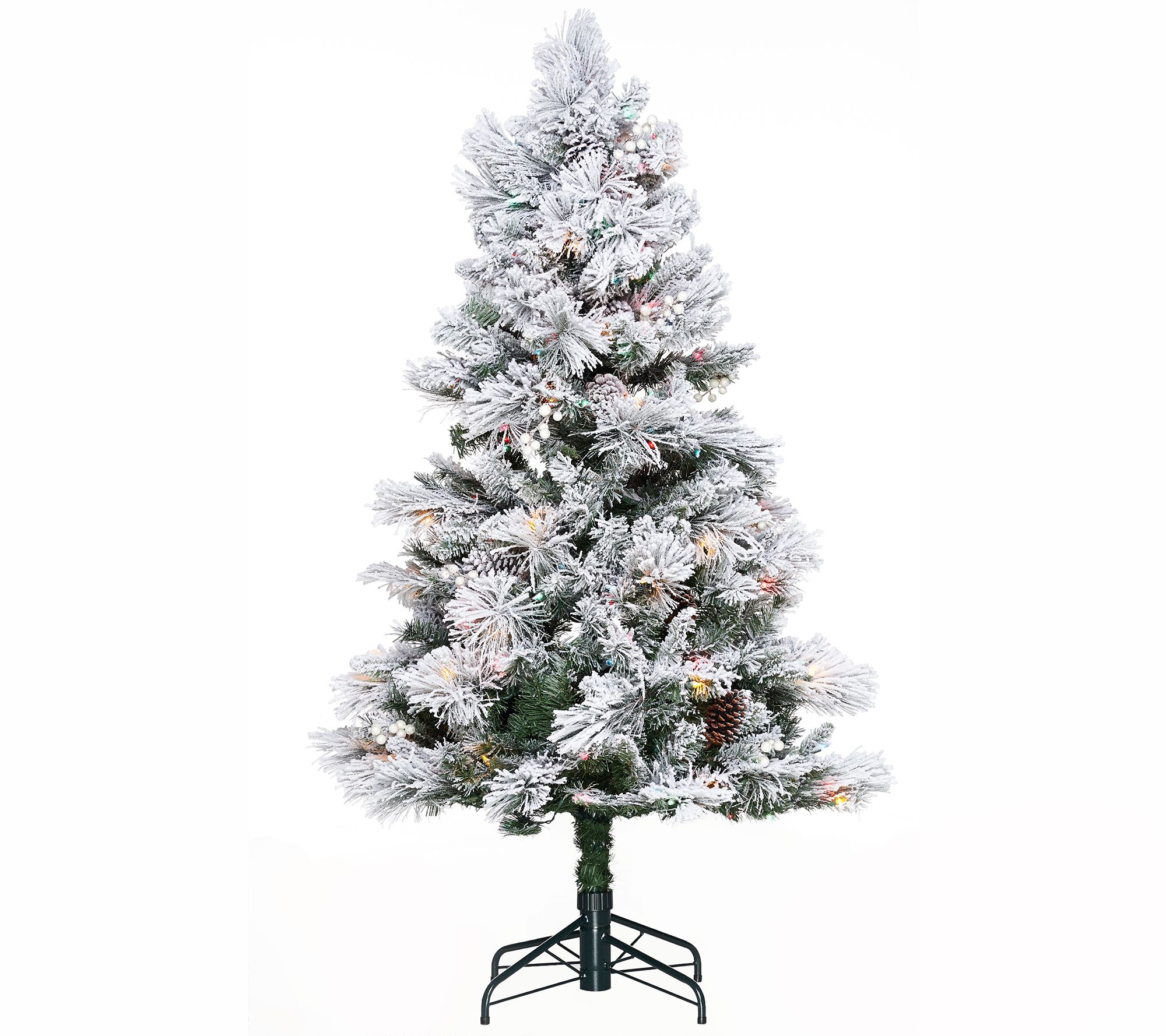 Hallmark 5' Snowdrift Spruce Tree with Quick Set Technology - Page ...