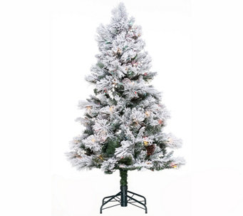 Hallmark 5' Snowdrift Spruce Tree with Quick Set Technology - H208815