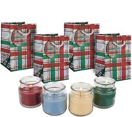 Set of (4) 2.5 oz. Candles w/ Gift Bags by Valerie
