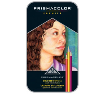 Prismacolor Premier Colored Pencil 36-Piece Setwith Tin - H288715