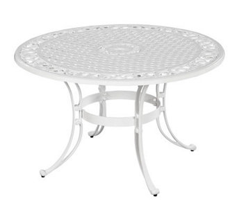 "Home Styles Biscayne 42"" Round Outdoor Dining Table - H358315"