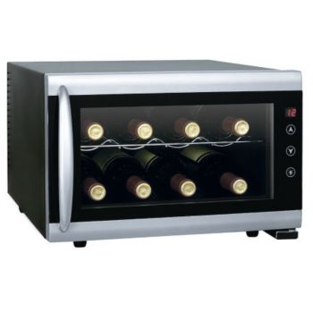SPT 8-Bottle Wine Cooler with Heating
