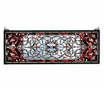Tiffany Style Chelsea Transom Window Panel - H131416