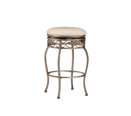Hillsdale Furniture Bordeaux Backless Swivel Counter Stool