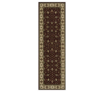 "Momeni Persian Garden 2'6"" x 8' Power Loomed Wool Rug - H162816"