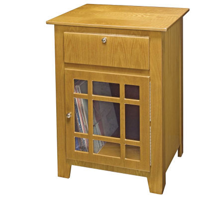 Crosley Richmond Entertainment Cabinet - Oak Finish