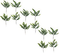 Set of 12 Frosted Spruce Evergreen Picks - H206416