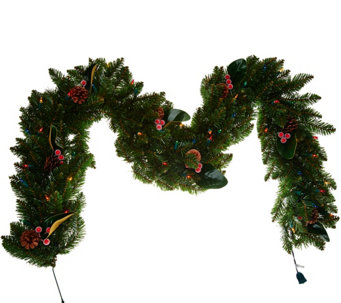 Bethlehem Lights 6' Decorative Canterbury Plug-In Garland - H209516