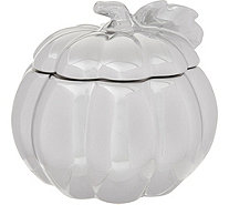 HomeWorx by Harry Slatkin Large Ceramic Pumpkin Filled Candle - H211416