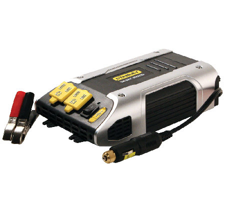 Stanley 500 Watt Power Inverter w/ AC Outlets &USB Port
