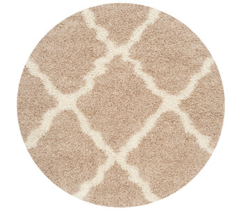 Dallas Shag 6'Diam Round Rug by Safavieh - H286016