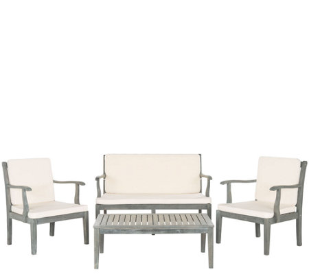Safavieh Fresno 4-Piece Outdoor Set