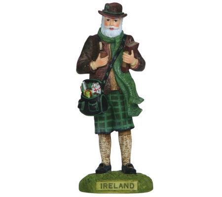 Ireland Santa Figurine by Pipka