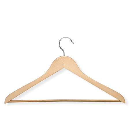 Honey-Can-Do 10-pack Wood Suit Hangers