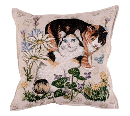 """Meow Mix"" Pillow"