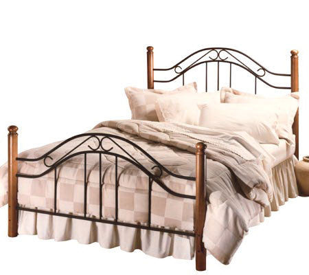 Hillsdale Furniture Winsloh King-Size Spindle Bedw/4 Posts
