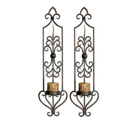 Privas Wall Sconce Set of 2 by Uttermost