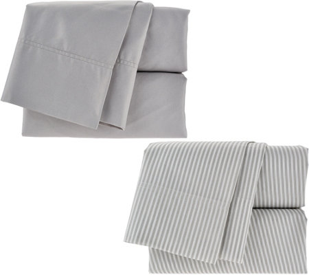 Home Reflections Set of Two 300TC Easy Care Sheet Sets