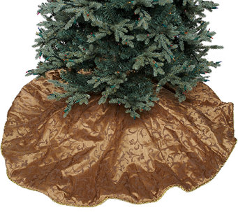 "60"" Diameter Oversized Deluxe Christmas Tree Skirt - H206417"