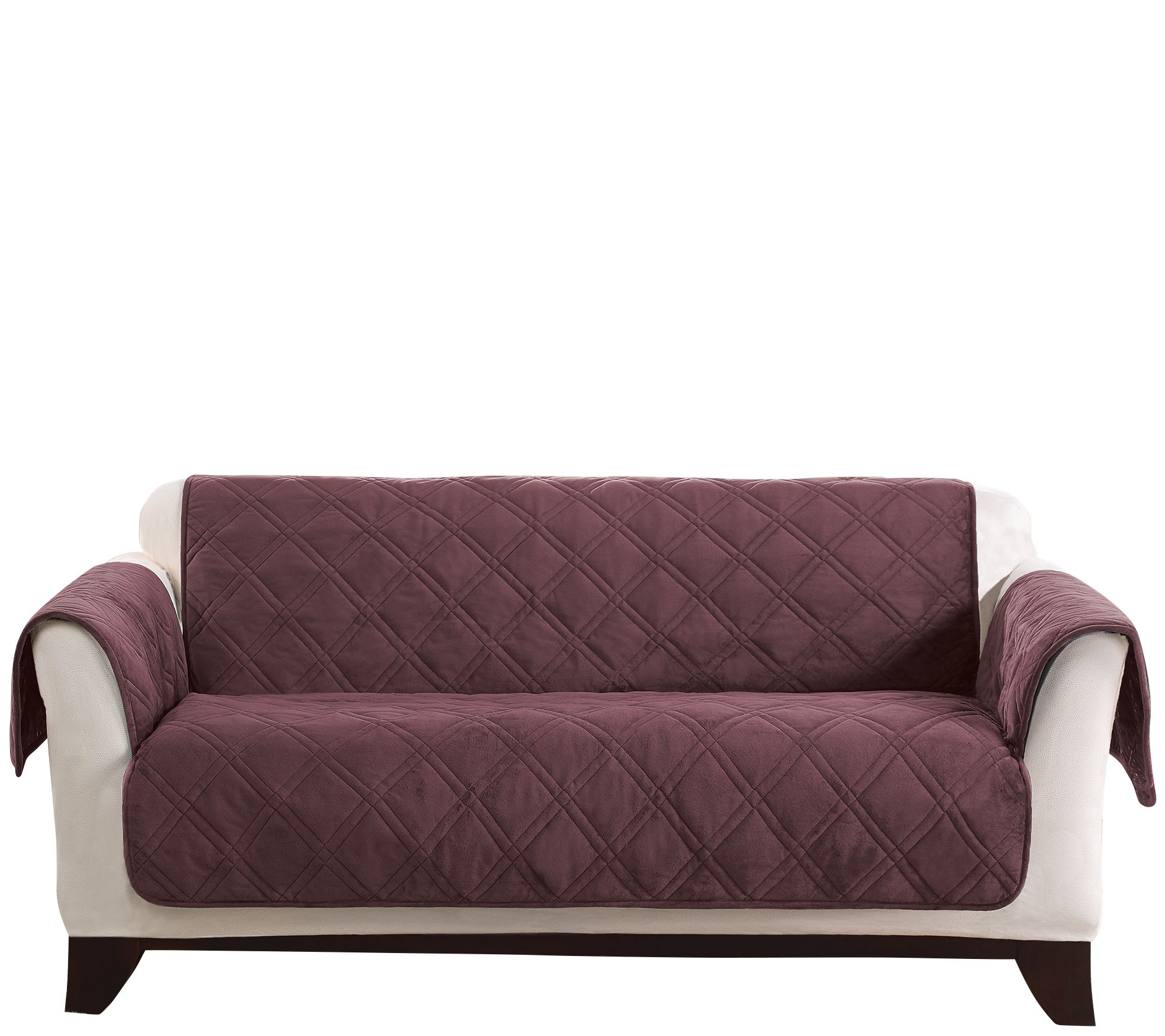 Slipcovers Loveseat Couch Recliner Slipcovers QVCcom