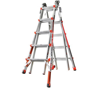 Little Giant Revolution 22' Ladder with RatchetLevelers - H287817