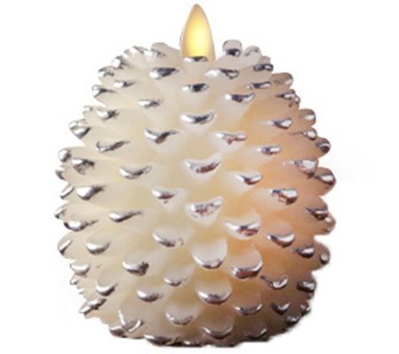 Luminara Flameless Pinecone Candle