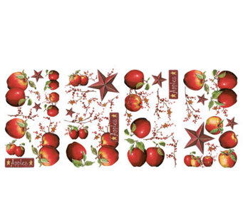 RoomMates Country Apples Peel & Stick Wall Decals - H348917
