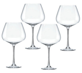 Lenox Tuscany Classics Set of 4 Burgundy Wine Glasses - H364717