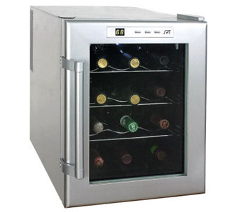 SPT 12-Bottle Thermo-Electric Wine Cooler - H366217