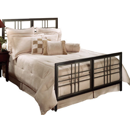 Hillsdale House Tiburon Queen Bed - Magnesium Pewter Finish