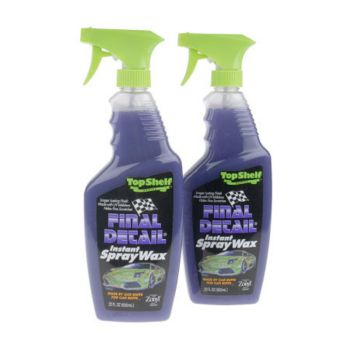Final Detail Top Shelf Series Instant Spray Wax- Set of 2