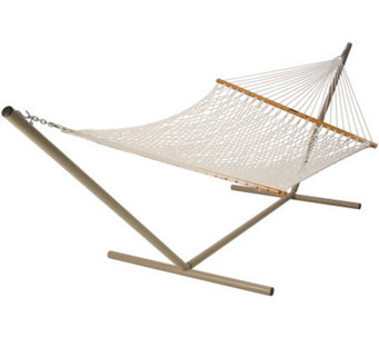 Pawleys Island Deluxe Cotton Rope Hammock - H187218
