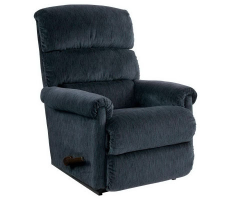 La-Z-Boy Trilogy Velvet Fabric Recliner with Memory Foam