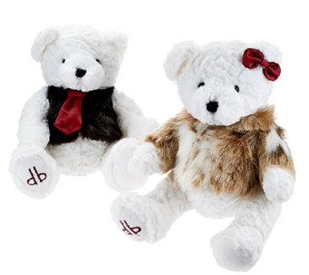 Dennis Basso Set of 2 His and Her Teddy Bear Couple - H205718