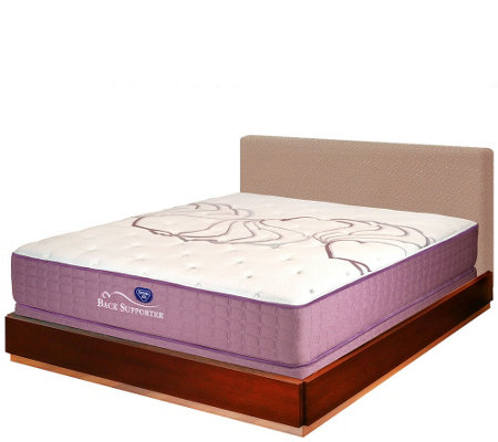 "Spring Air Sleep Sense 12"" Firm Queen Mattress Set"