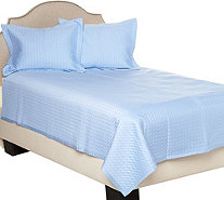 Northern Nights Rayon made from Bamboo Cotton Filled Twin Coverlet - H210818