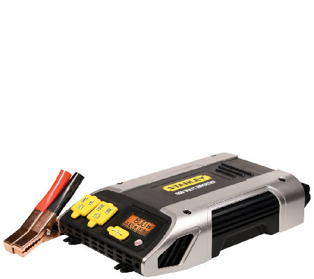 Stanley 800 Watt Power Inverter w/ AC Outlets &USB Port