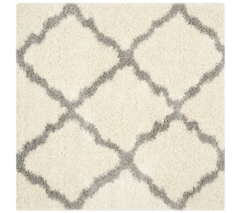 Dallas Shag 6' x 6' Square Rug by Safavieh - H286018