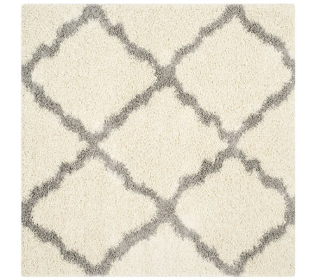 Dallas Shag 6' x 6' Square Rug by Safavieh