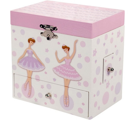 Mele & Co. Jolie Girl's Musical Ballerina Jewelry Box