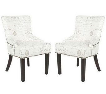 Lotus KD Side Chairs - Gray - H361418
