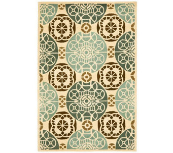 Safavieh Capri Collection Overdye 6' x 9' Wooland Viscose Rug - H362718