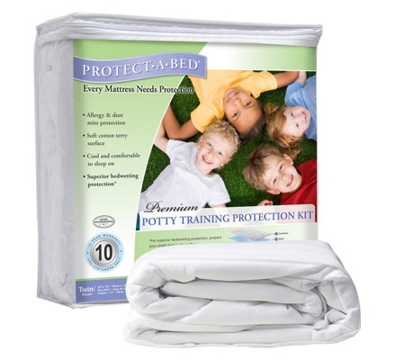 Protect-A-Bed Twin Potty Training Protection Kit