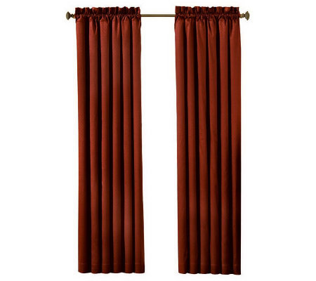 "Eclipse 42"" x 84"" Canova Blackout Window Curtain Panel"