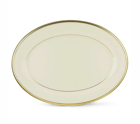 "Lenox Eternal 13"" Oval Platter"
