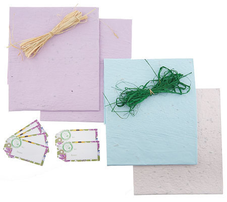 Pre-Seeded Flowering Gift Wrap Kit