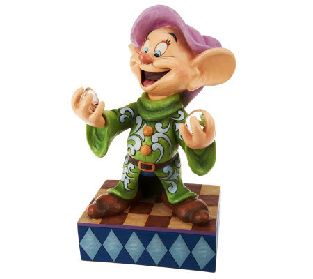 Jim Shore DisneyTradition Dopey with Diamond Figurine