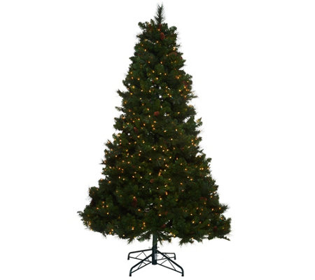 Bethlehem Lights 5' Fox Meadow Christmas Tree w/Instant Power